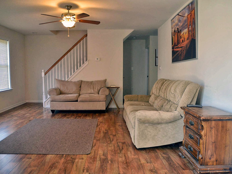 Way of Life Recovery Sober House Living Room